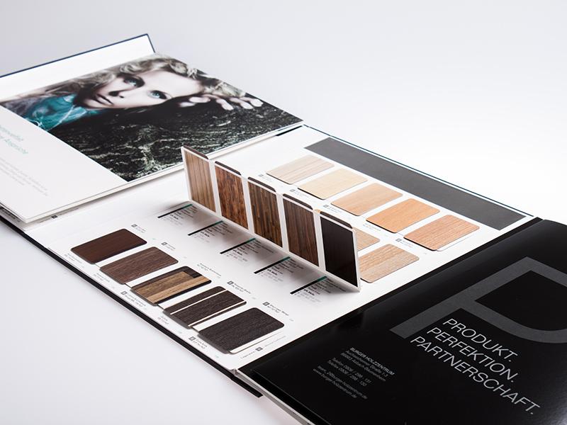 OPUS-Marketing-News-Burger-Holzzentrum-Fotoshooting-Plattenkatalog-Eigenschaften