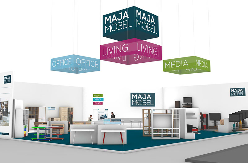 marken relaunch f r maja m bel opus marketing. Black Bedroom Furniture Sets. Home Design Ideas