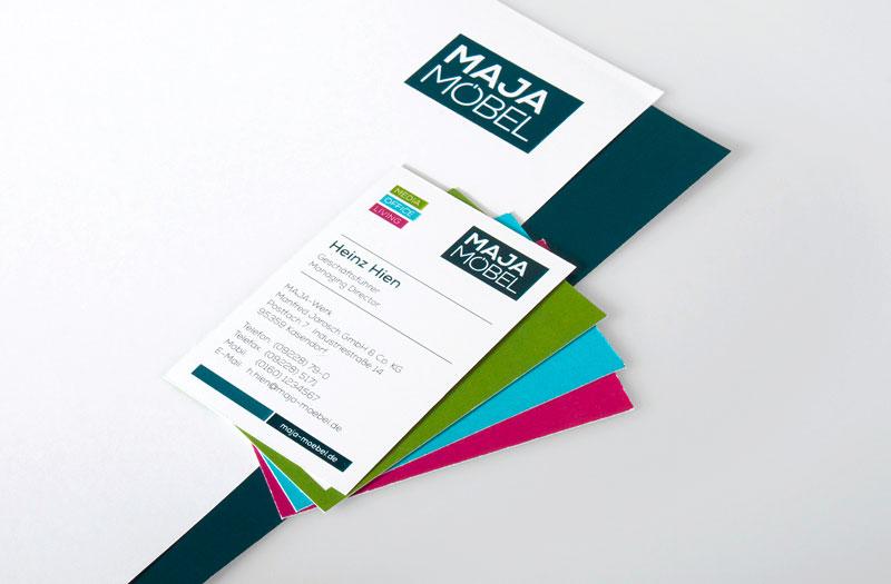 OPUS-Marketing-News-MAJA-Moebel-Marken-Relaunch-Visitenkarte