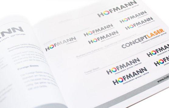 Logozusammenführung | Hofmann