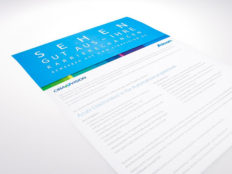 OPUS-Marketing-News-CIBA-VISION-Gestaltung-Stellenanzeigen-Azubi