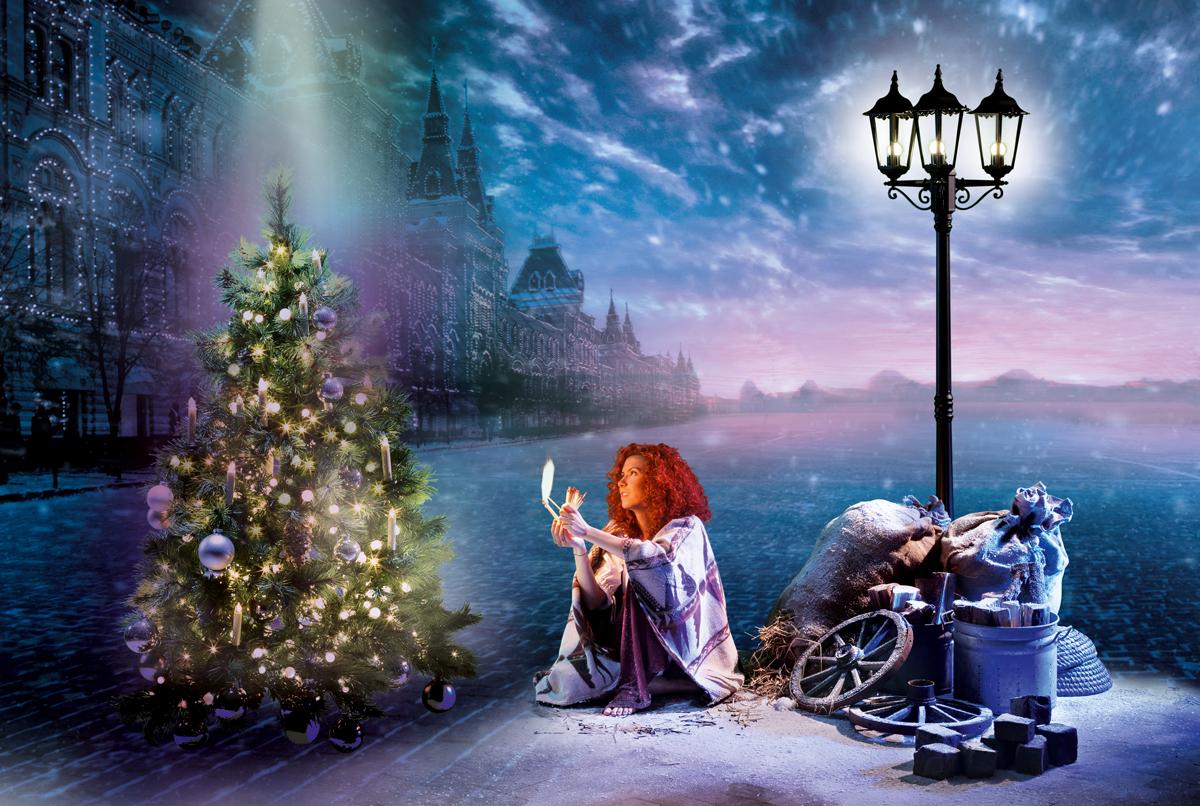 OPUS-Marketing-News-Eltric-Weihnachtskatalog-Fotoshooting-Das-kleine-Maedchen-mit-den-Schwefelhoelzern-Bildsprache