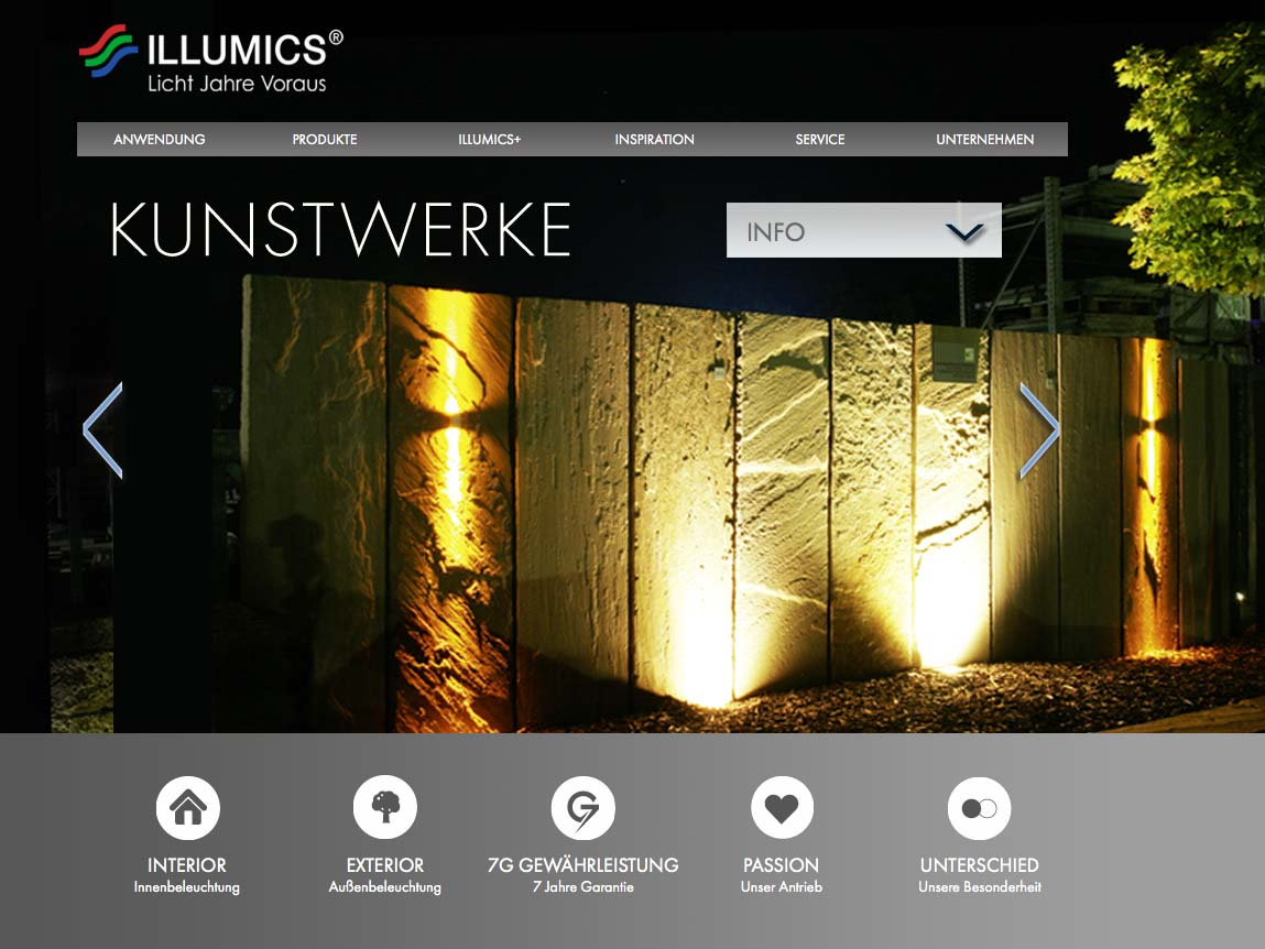 OPUS-Marketing-News-Illumics-Markenauftritt-Website-Kunstwerke