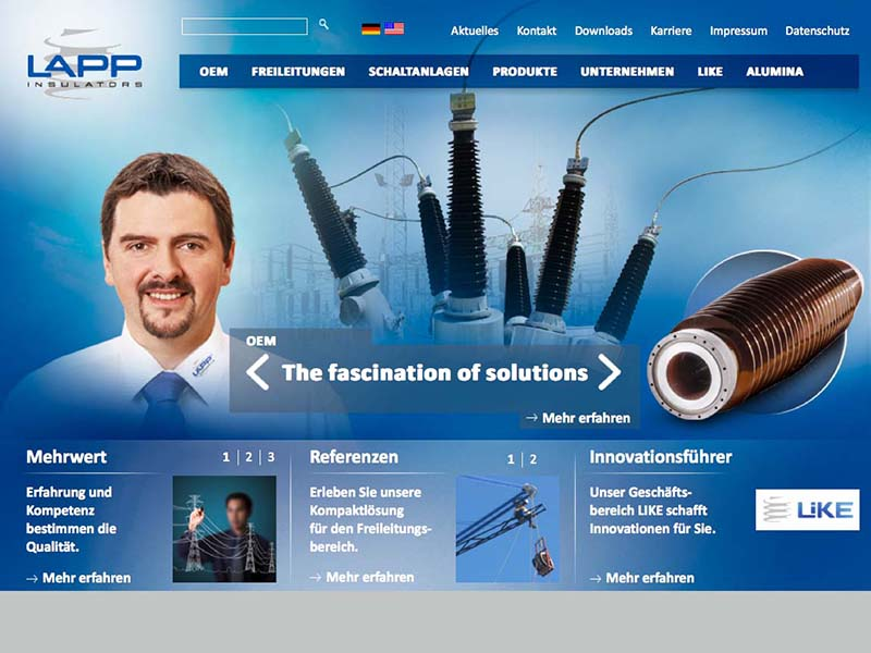 OPUS-Marketing-News-LAPP-Insulators-Website-Landingpage