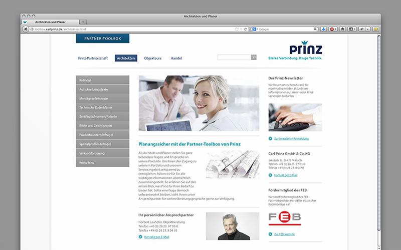 OPUS-Marketing-News-Prinz-Partner-Toolbox-Website-Architekten