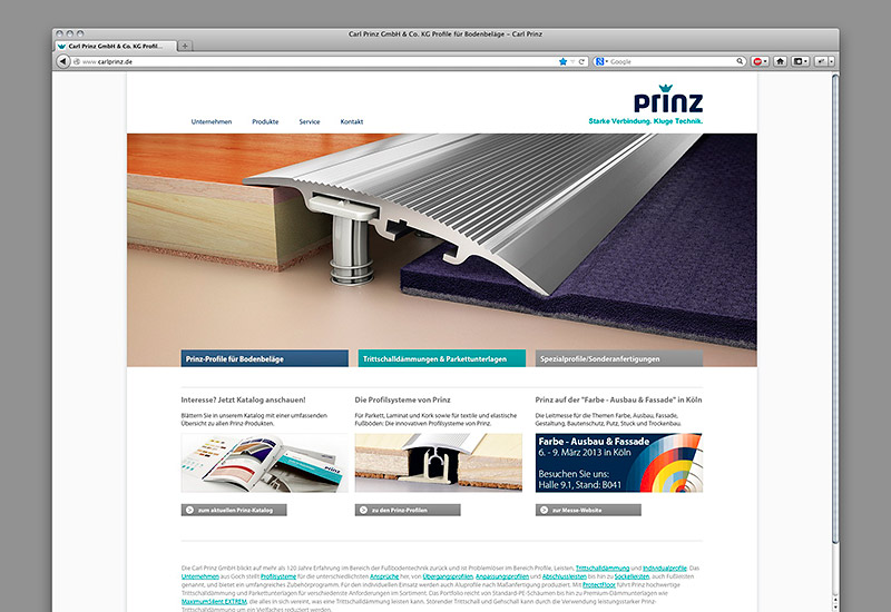 OPUS-Marketing-News-Prinz-Website-Landingpage
