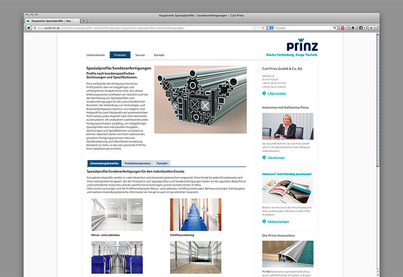 OPUS-Marketing-News-Prinz-Website-Service