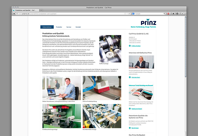 OPUS-Marketing-News-Prinz-Website-Unternehmen