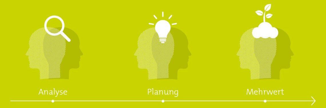 Jahreswerbeplanung Grüne Branche