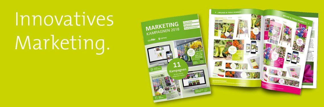 Marketingkonzept Grüne Branche