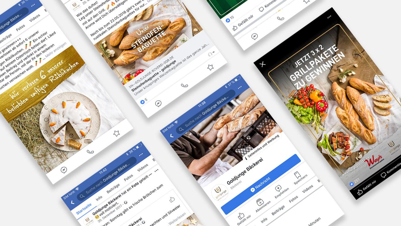 OPUS Marketing / Leistungen / Digital / Social Media / Goldjunge