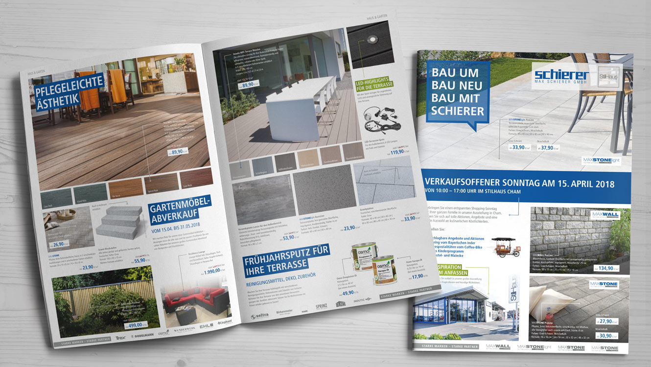 OPUS Marketing / Leistungen / Print / Beilage / Schierer