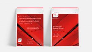 OPUS Marketing / Leistungen / Print / Unternehmensbroschüre Einband / sr webatex