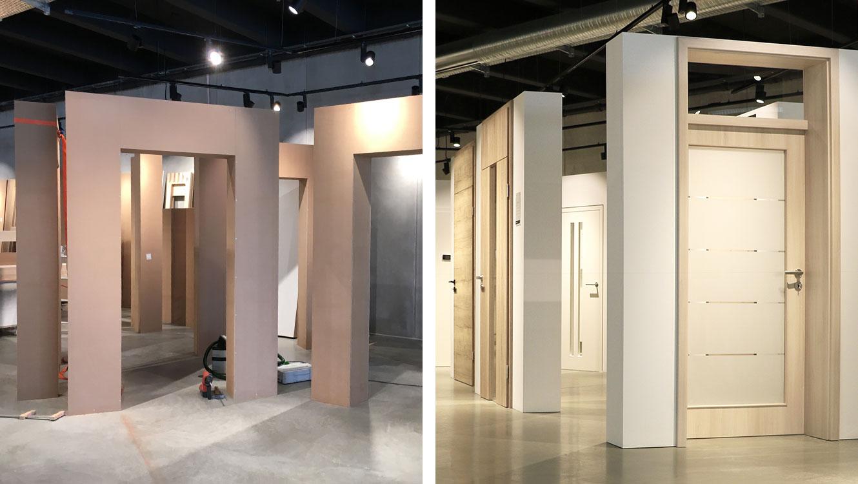 OPUS Marketing / Leistungen / Standort / Ausstellungsbau / Wölpert / Türen