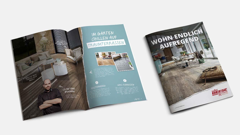 OPUS Marketing / Leistungen / Strategie / Kommunikationsstrategie / Beese / Katalog