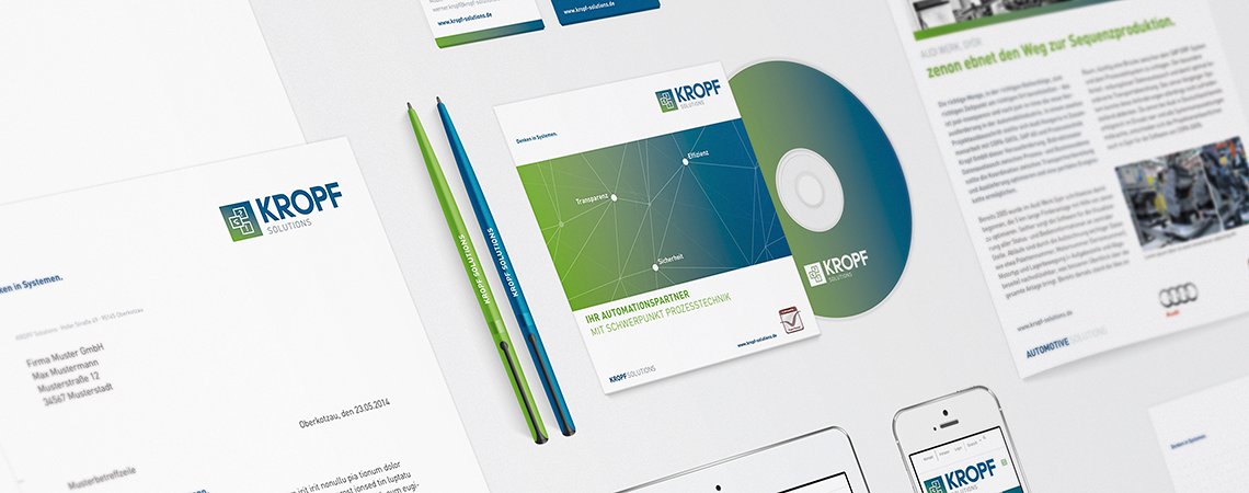 KROPF Solutions | Geschäftsausstattung