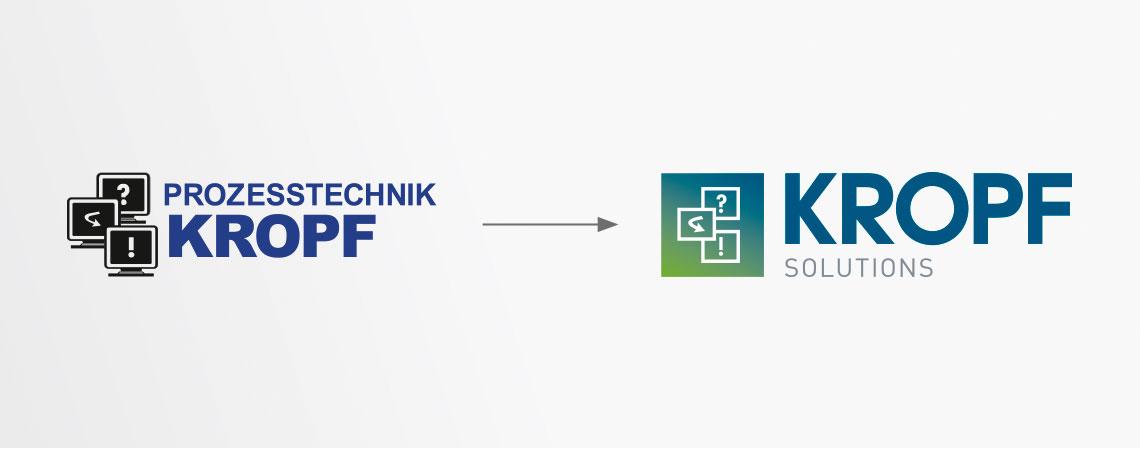 KROPF Solutions | Logoentwicklung