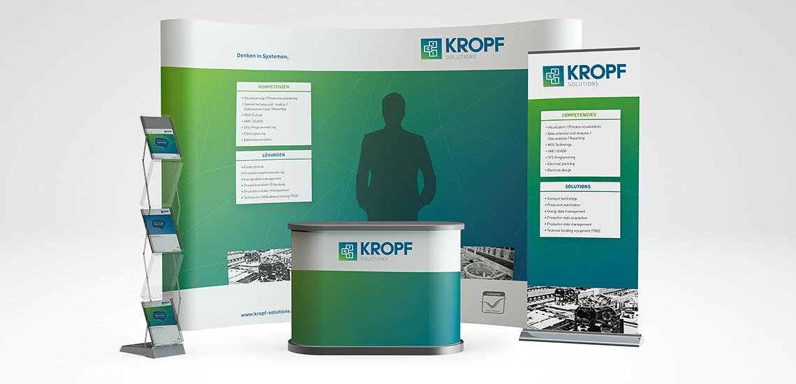 KROPF Solutions | Messestand
