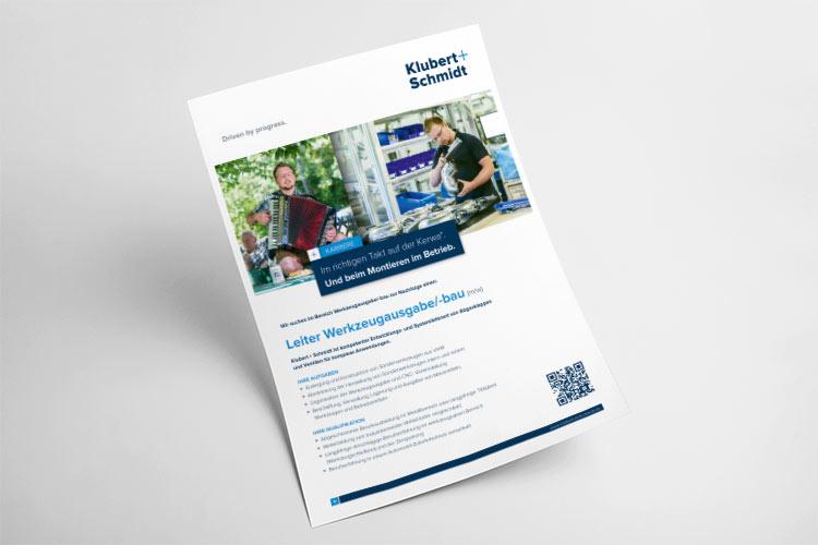 OPUS-Marketing-News-Klubert-Schmidt-Stellenanzeige