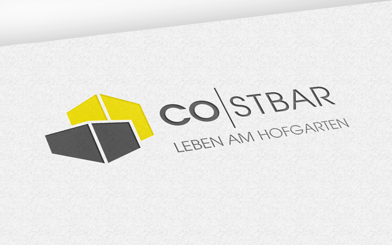Immobilienmarketing für das Projekt Costbar – Logo