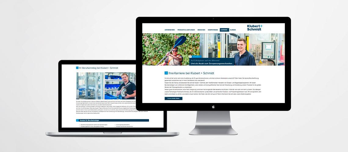 projekte-erfolgsgeschichte-klubert-schmidt-karriere-webiste-opus-marketing