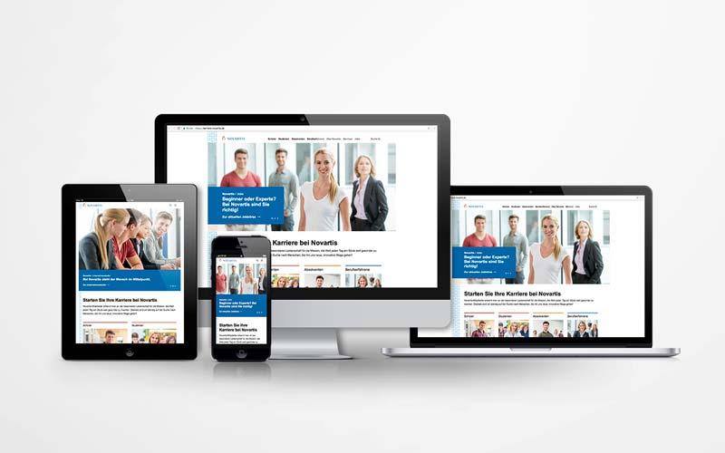 Relaunch von Karriere Novartis