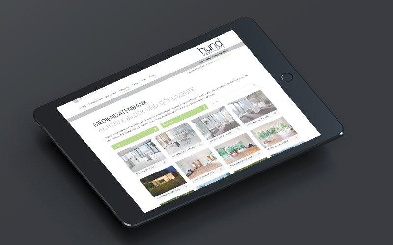 Web-Relaunch für Hund Möbelwerke