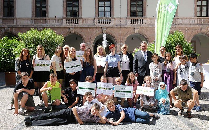 Bayerische Ernährungstage Erlebnistag Symposium Siegerehrung
