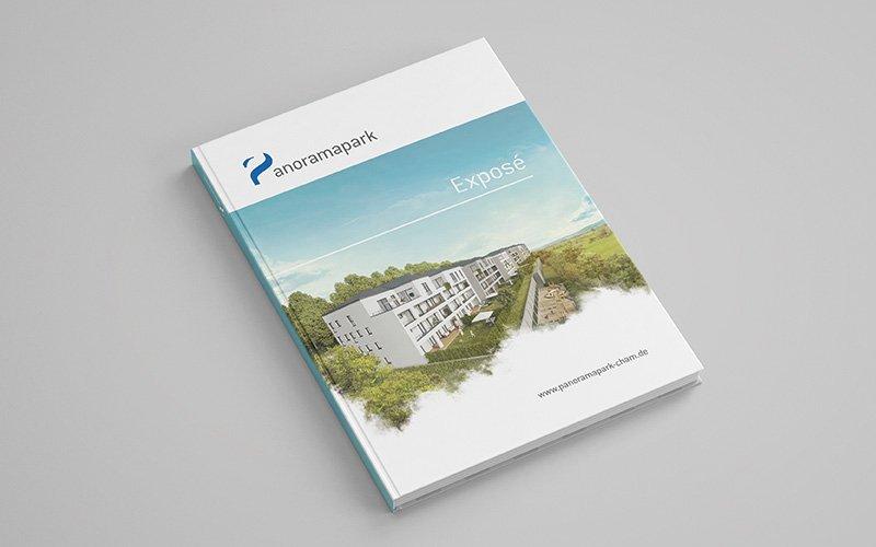 "Das Exposé zum Immobilienprojekt ""Panoramapark"""