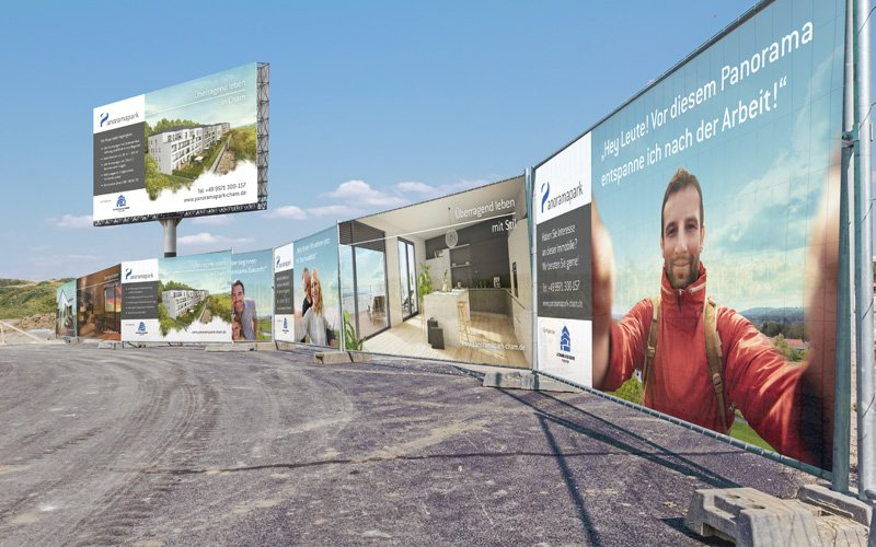 "Das Standortbranding des Immobilienprojekts ""Panoramapark"""