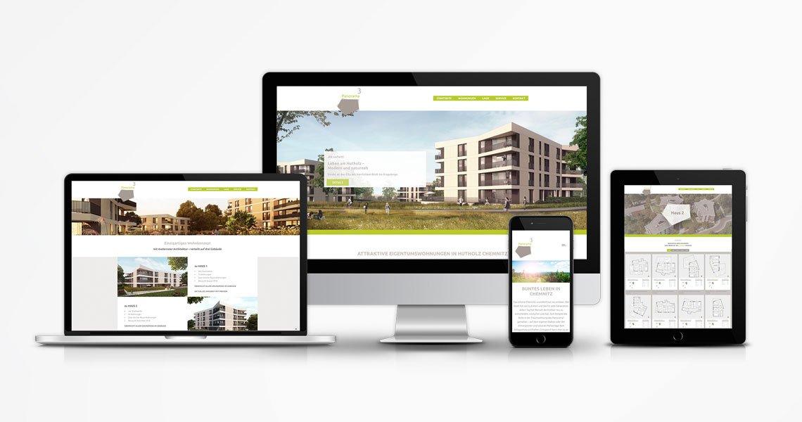 "WG ""EINHEIT"" Website Panorama³"