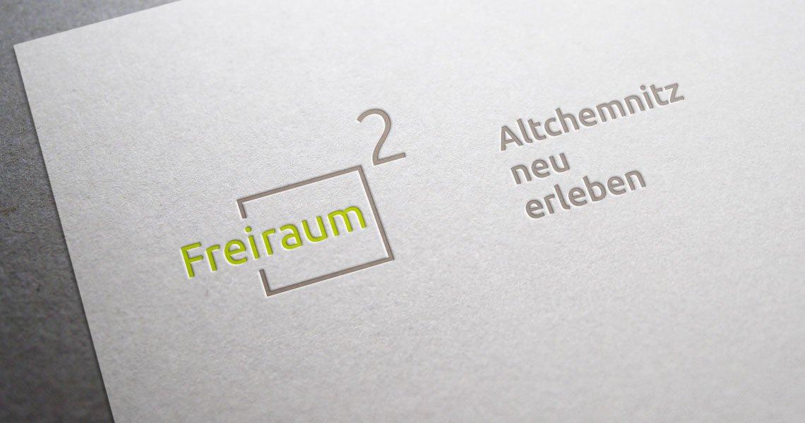 """WG """"EINHEIT"""" Logo und Claim Freiraum²"""