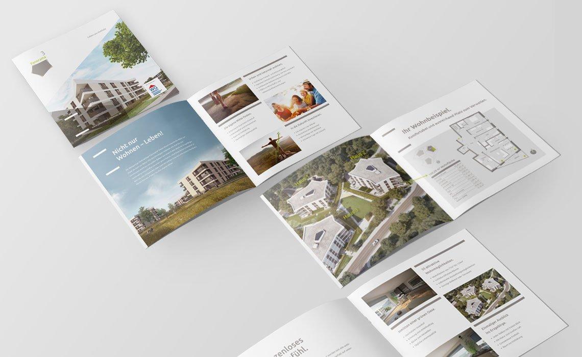 """WG """"EINHEIT"""" Flyer Panorama³"""