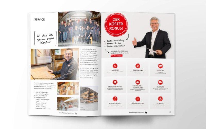 Service HolzLand Köster – Katalog