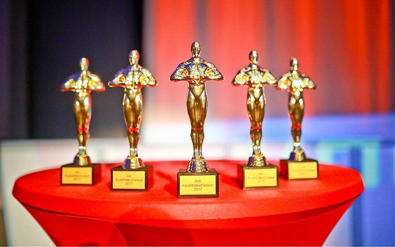 Die Preise vom IHK-Azubi-Film-Contest