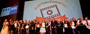 Die Preisverleihung des IHK-Azubi-Film-Contest