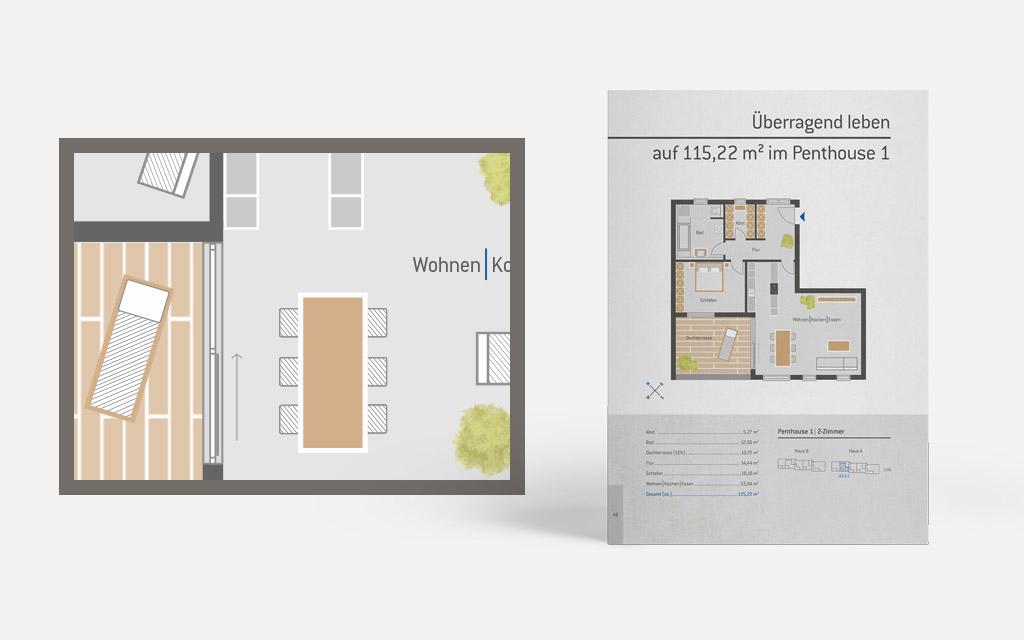 OPUS Marketing / Projekte / Panoramapark / Grundriss