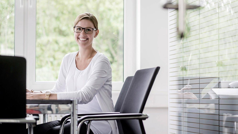 OPUS Marketing / Projekt / Karriere bei WEISS / Portrait Verwaltung