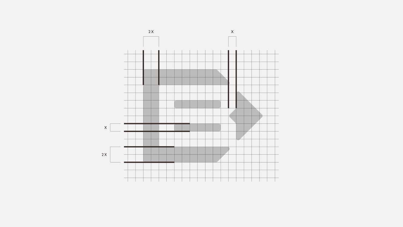OPUS Marketing / Projekte / beinbauer group / Logo / Aufbau Bildmarke