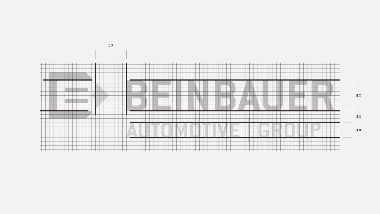 OPUS Marketing / Projekte / beinbauer group / Logoauszeichnung