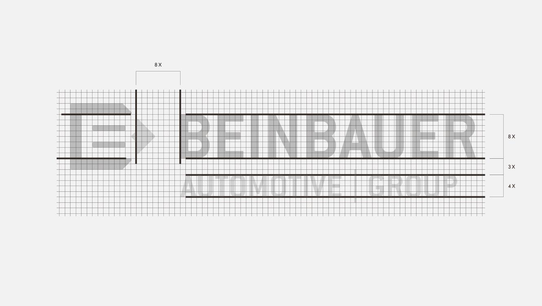 OPUS Marketing / Projekte / beinbauer group / Logoauszeichnung