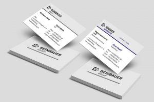 OPUS Marketing / Projekte / beinbauer group / Geschäftsausstattung