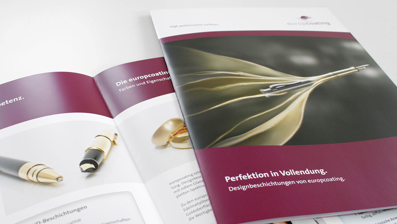 OPUS Marketing / Projekte / Europcoating / Broschüren