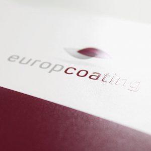 OPUS Marketing / Projekte / Europcoating / Logo mit Veredelung