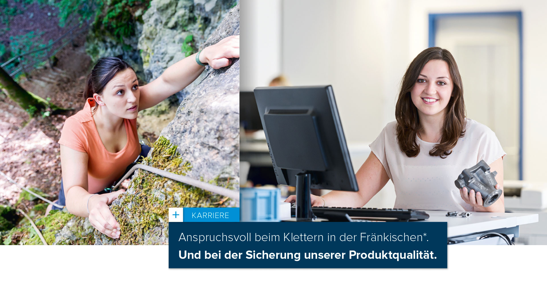 OPUS Marketing / Projekte / Klubert+Schmidt / Karriere / Employer Branding / Qualitätssicherung
