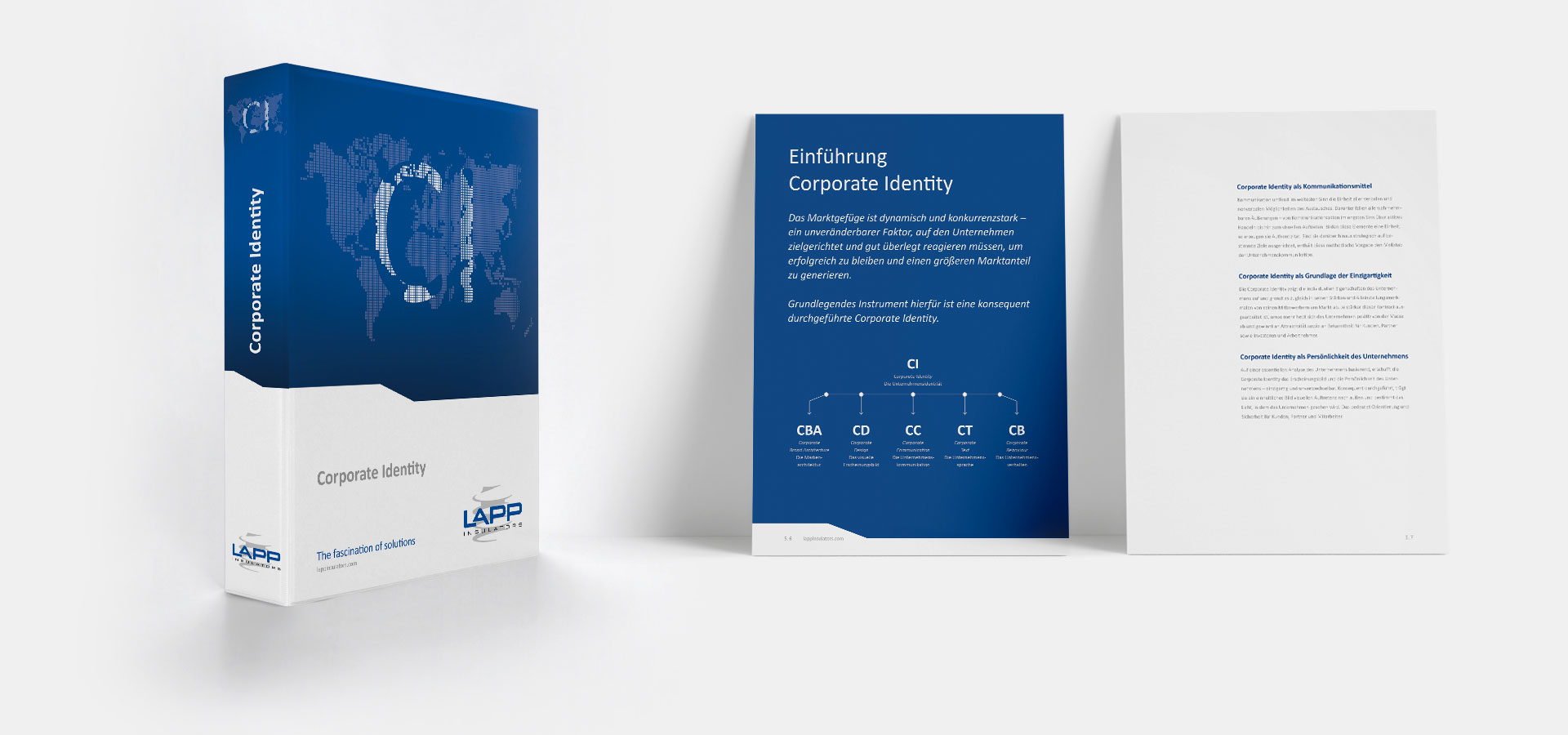 OPUS Marketing / Projekte / LAPP Insulators / Corporate Identity