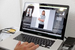 OPUS Marketing / Projekte / RAUMEDIC / Employer Branding / Making-Of / Fotoshooting