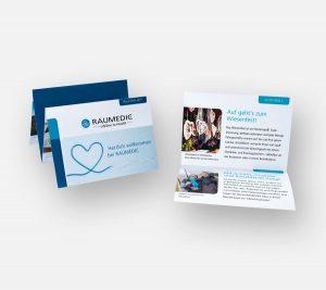 OPUS Marketing / Projekte / RAUMEDIC / Employer Branding / Welcome-Heft