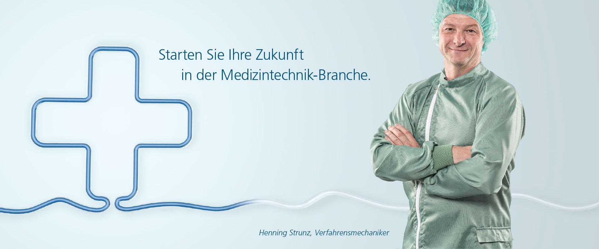 OPUS Marketing / Projekte / RAUMEDIC / Employer Branding / Medizintechnik
