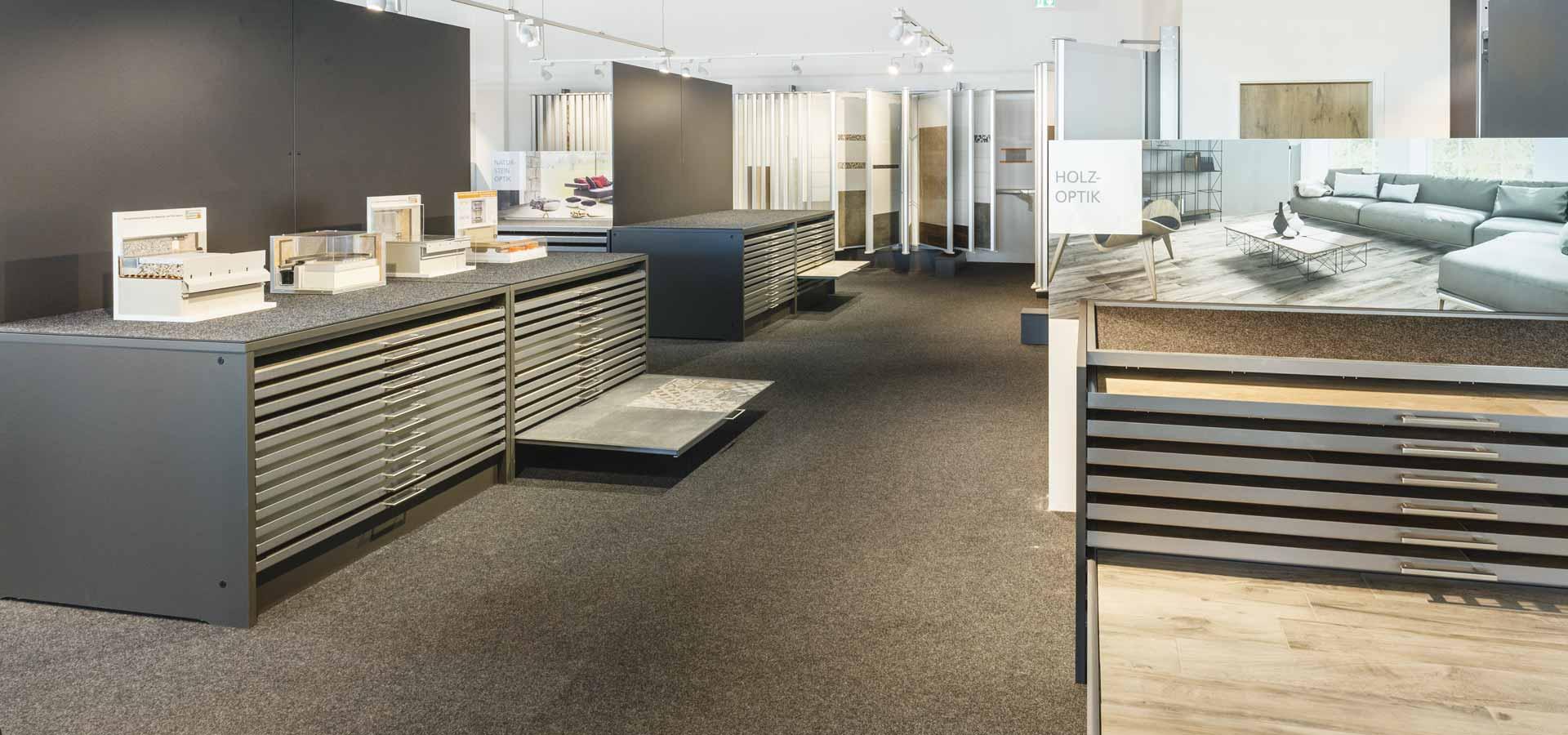 OPUS Marketing / Baustoffhandel / Ausstellung / Planung / Konzept / Produktplatzierung